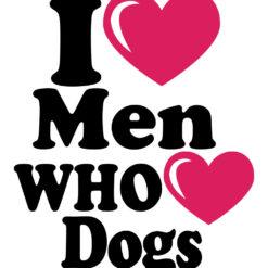 I-love-men-who-love-dogs-majica