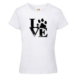Love Dog majica