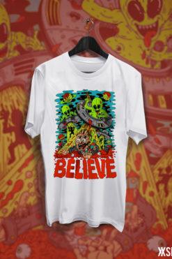 Believe alien crna bijela